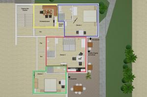 Plan Zimmer 1-3